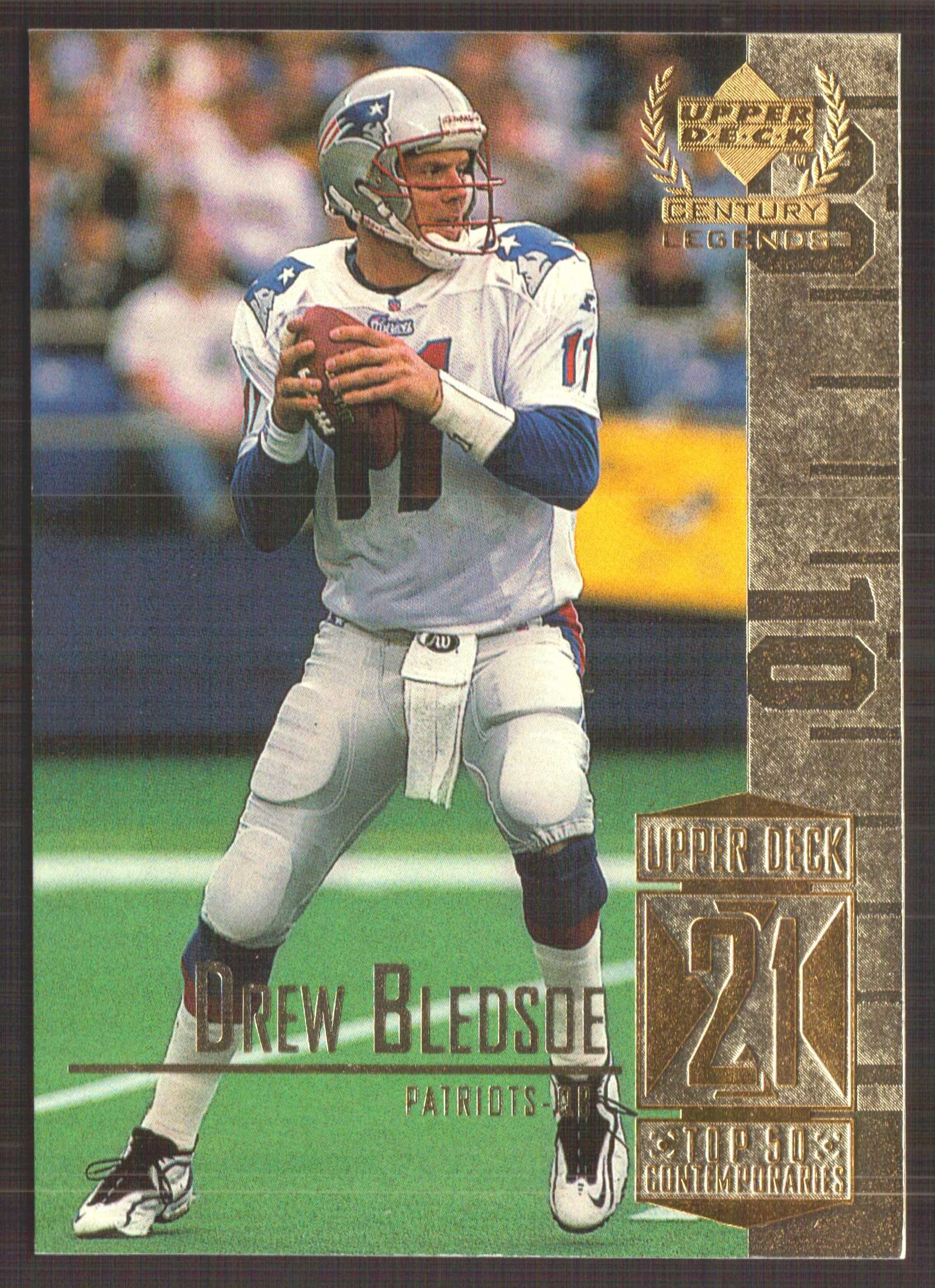1999 Upper Deck Century Legends #71 Drew Bledsoe