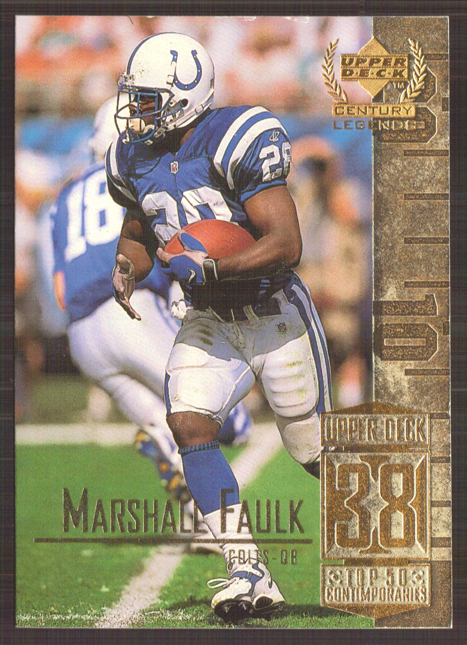 1999 Upper Deck Century Legends #88 Marshall Faulk