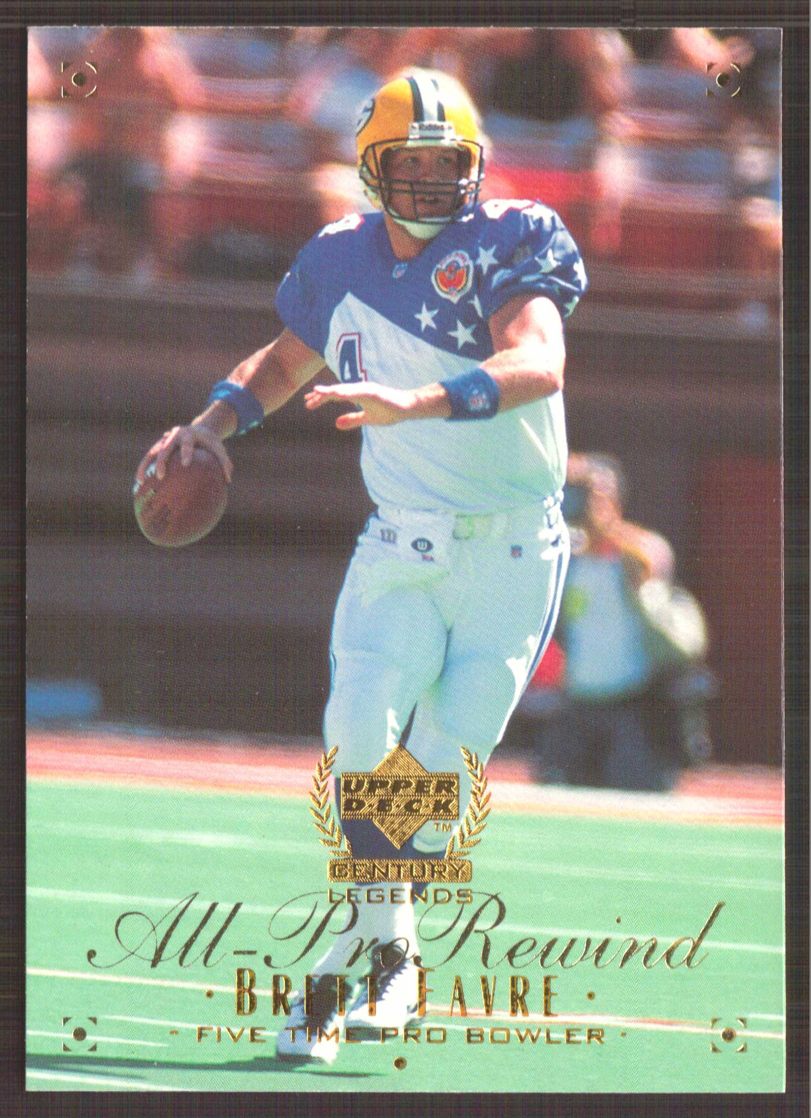 1999 Upper Deck Century Legends #101 Brett Favre APR