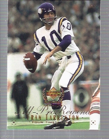 1999 Upper Deck Century Legends #105 Fran Tarkenton APR