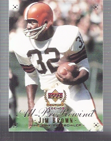 1999 Upper Deck Century Legends #108 Jim Brown APR