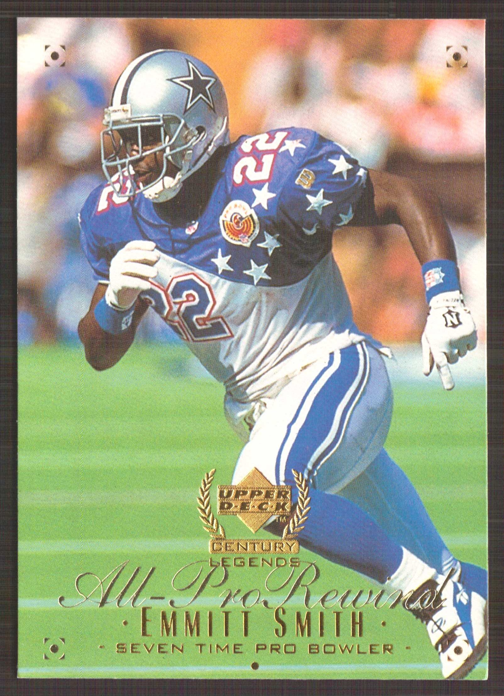 1999 Upper Deck Century Legends #113 Emmitt Smith APR