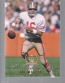 1999 Upper Deck Century Legends #118 Joe Montana APR