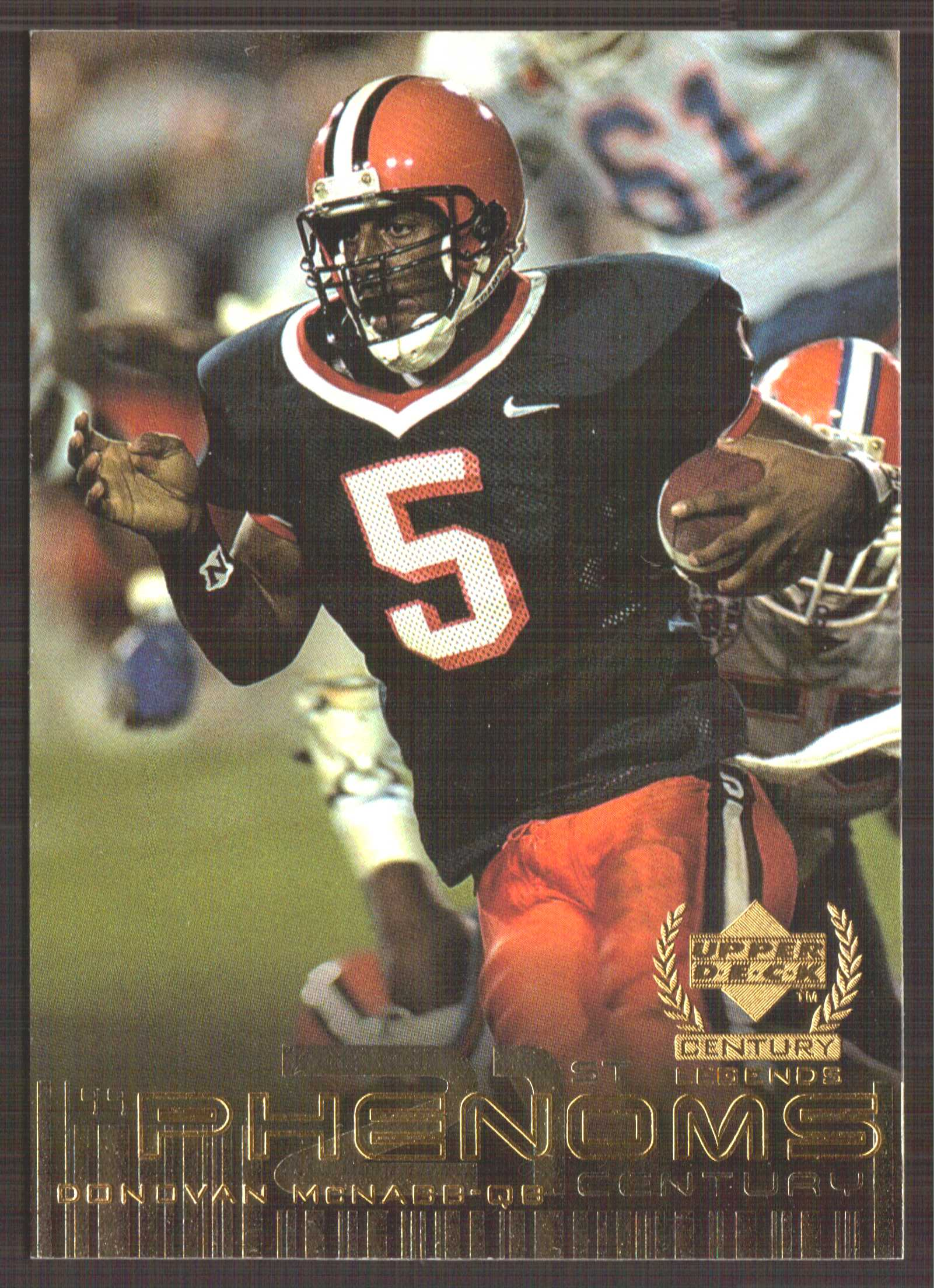 1999 Upper Deck Century Legends #133 Donovan McNabb RC