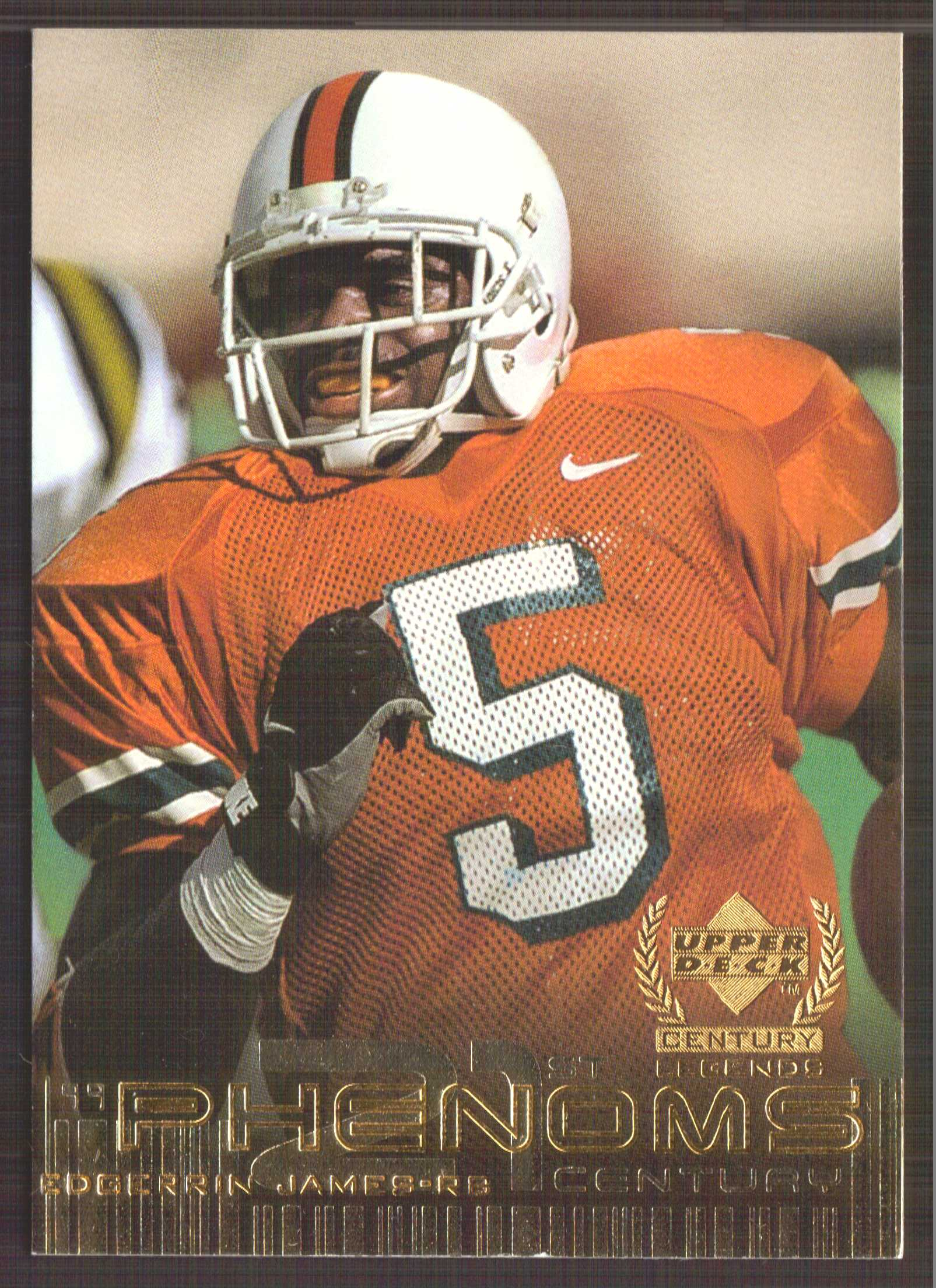 1999 Upper Deck Century Legends #135 Edgerrin James RC