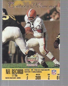 1999 Upper Deck Century Legends #166 Jim Brown CM