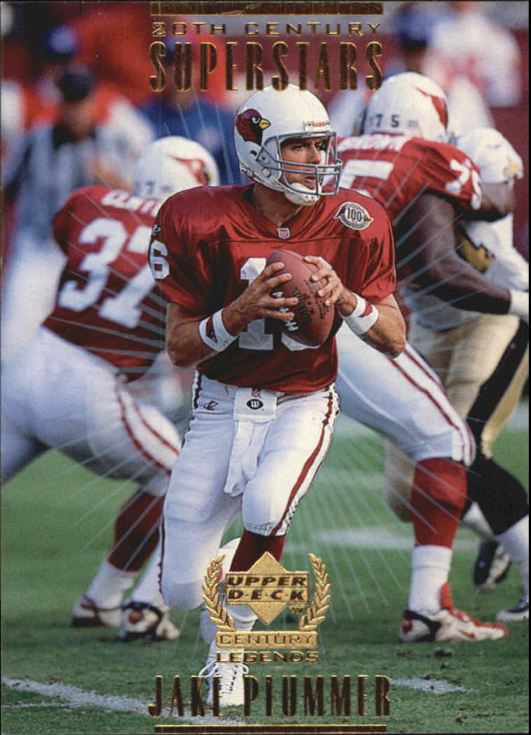 1999 Upper Deck Century Legends 20th Century Superstars #S5 Jake Plummer
