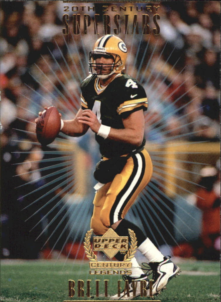 1999 Upper Deck Century Legends 20th Century Superstars #S6 Brett Favre