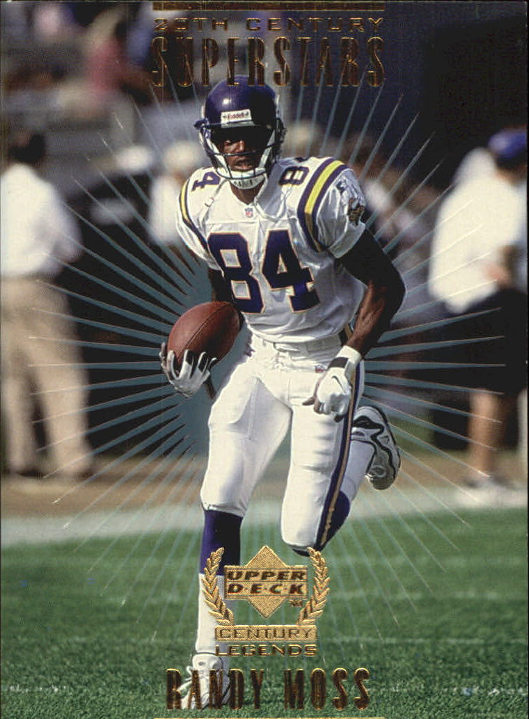 1999 Upper Deck Century Legends 20th Century Superstars #S8 Randy Moss