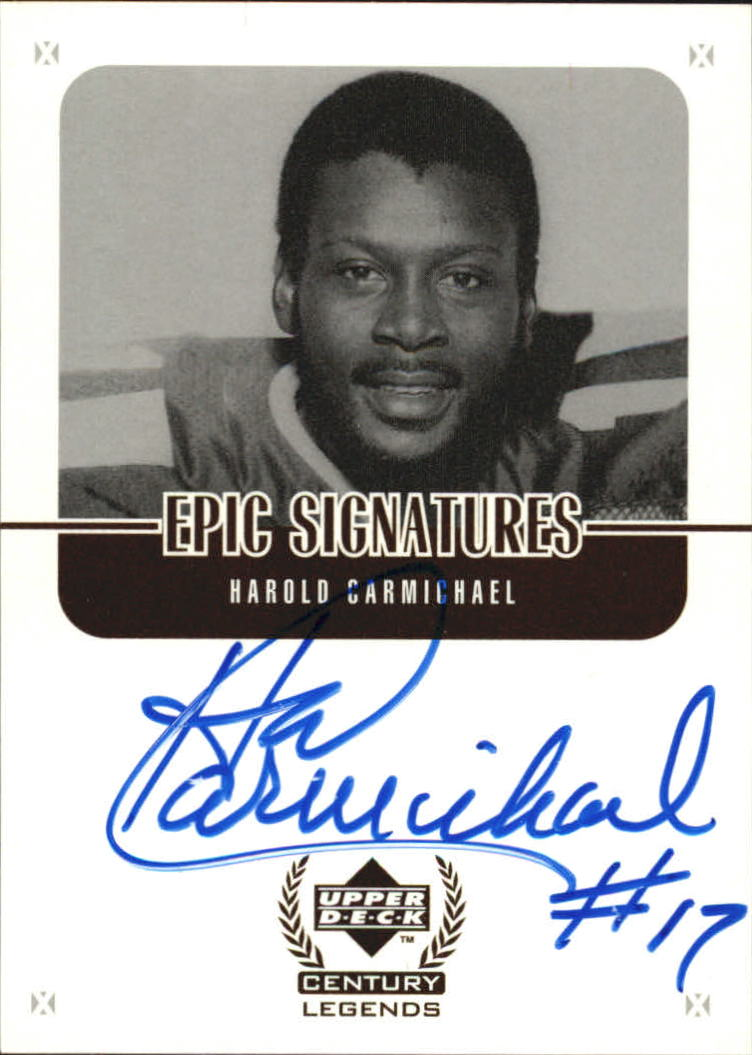 1999 Upper Deck Century Legends Epic Signatures #HC Harold Carmichael