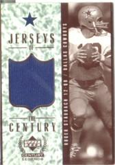 1999 Upper Deck Century Legends Jerseys of the Century #GJ2 Roger Staubach