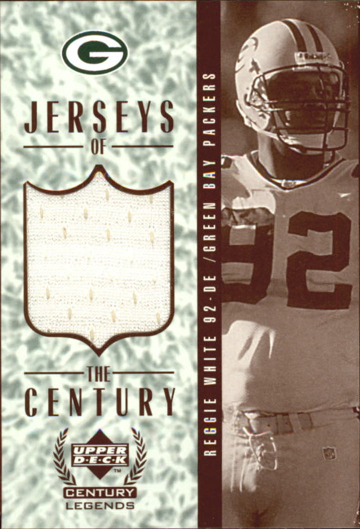 1999 Upper Deck Century Legends Jerseys of the Century #GJ5 Reggie White
