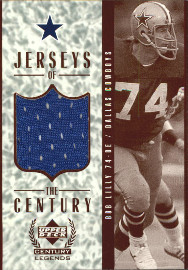 1999 Upper Deck Century Legends Jerseys of the Century #GJ8 Bob Lilly