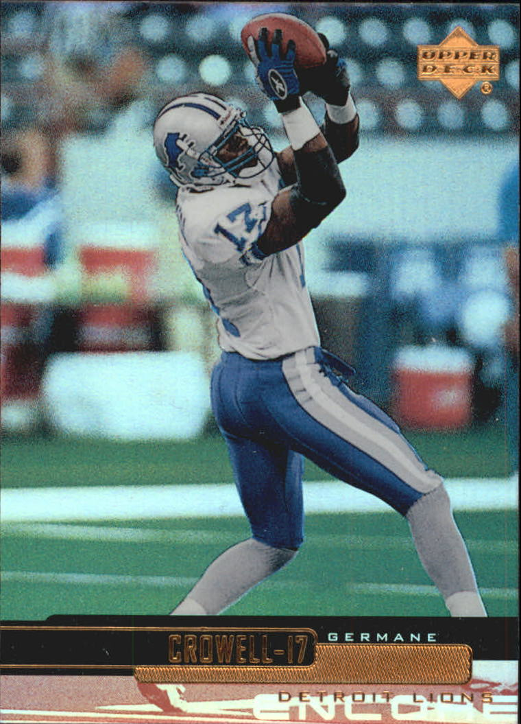 1999 Upper Deck Encore #60 Germane Crowell