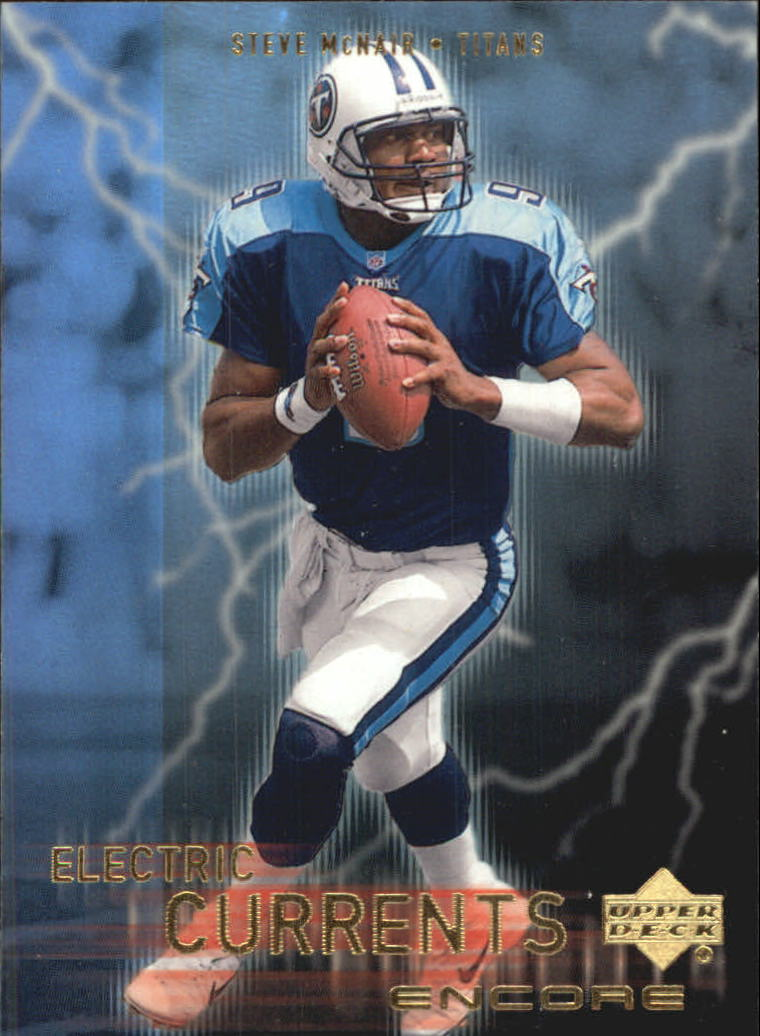 1999 Upper Deck Encore Electric Currents #EC9 Steve McNair