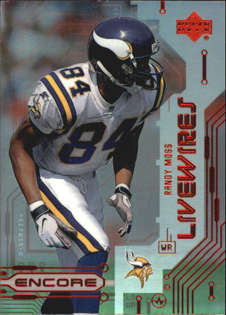 1999 Upper Deck Encore Live Wires #L9 Randy Moss