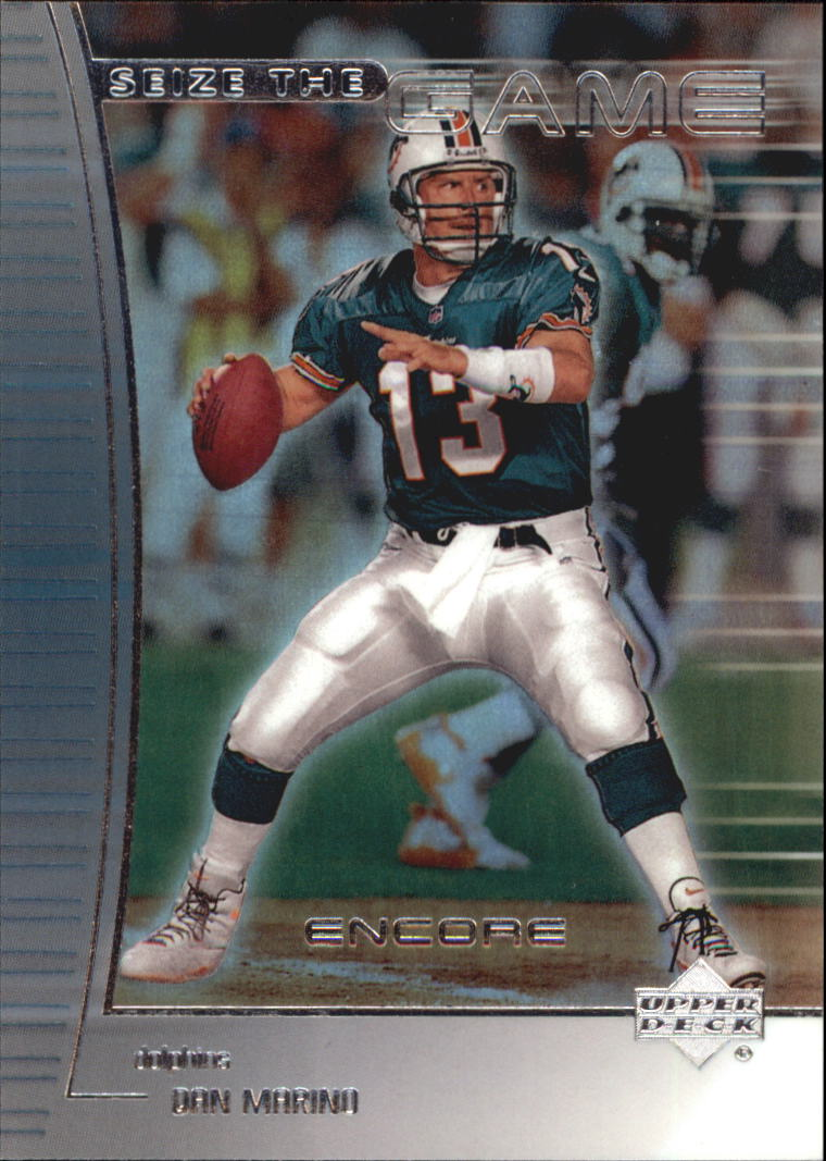 1999 Upper Deck Encore Seize the Game #SG24 Dan Marino