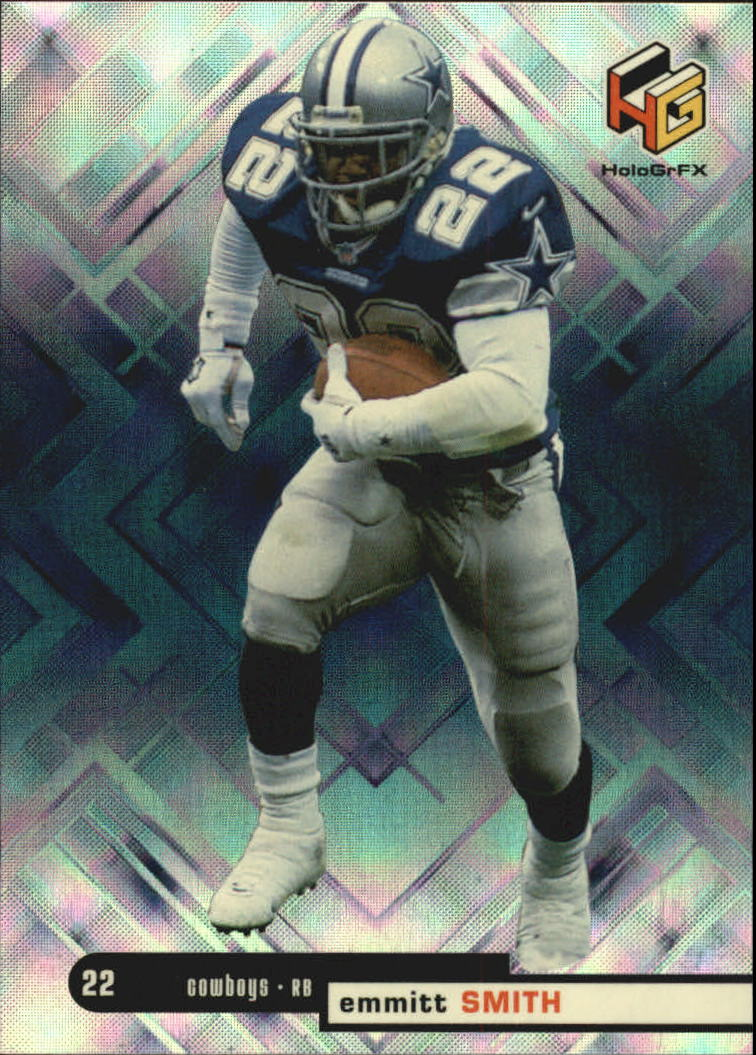 1999 Upper Deck HoloGrFX #12 Emmitt Smith