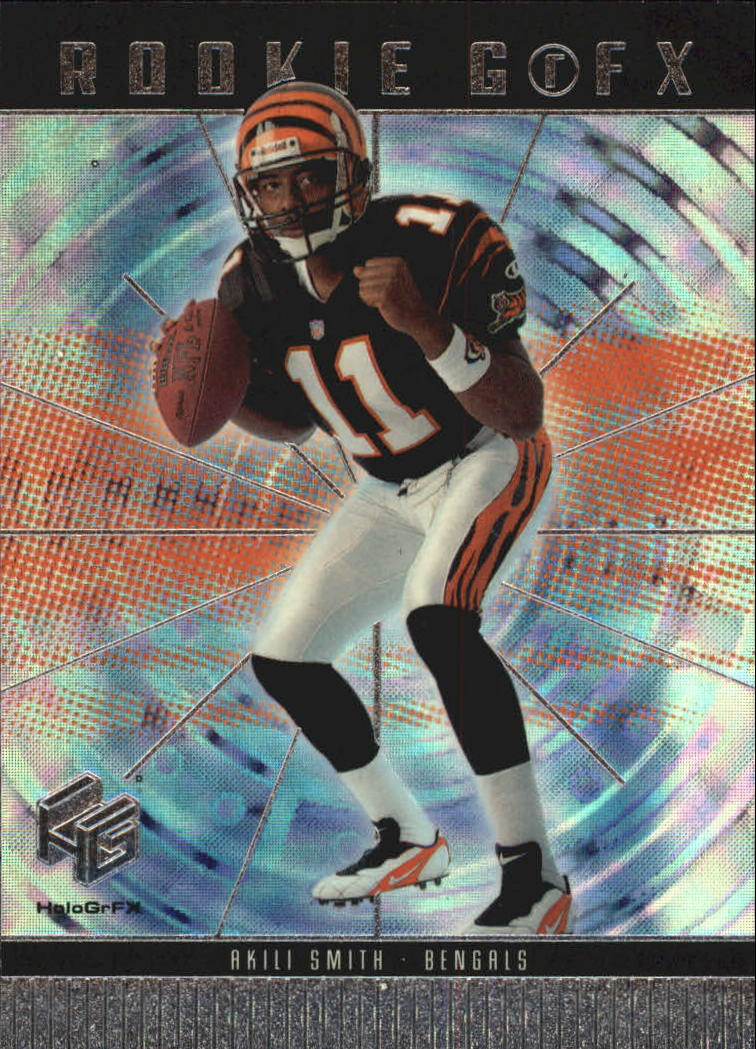 1999 Upper Deck HoloGrFX #63 Akili Smith RC