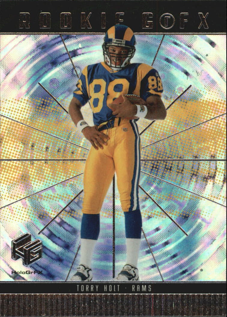 1999 Upper Deck HoloGrFX #66 Torry Holt RC