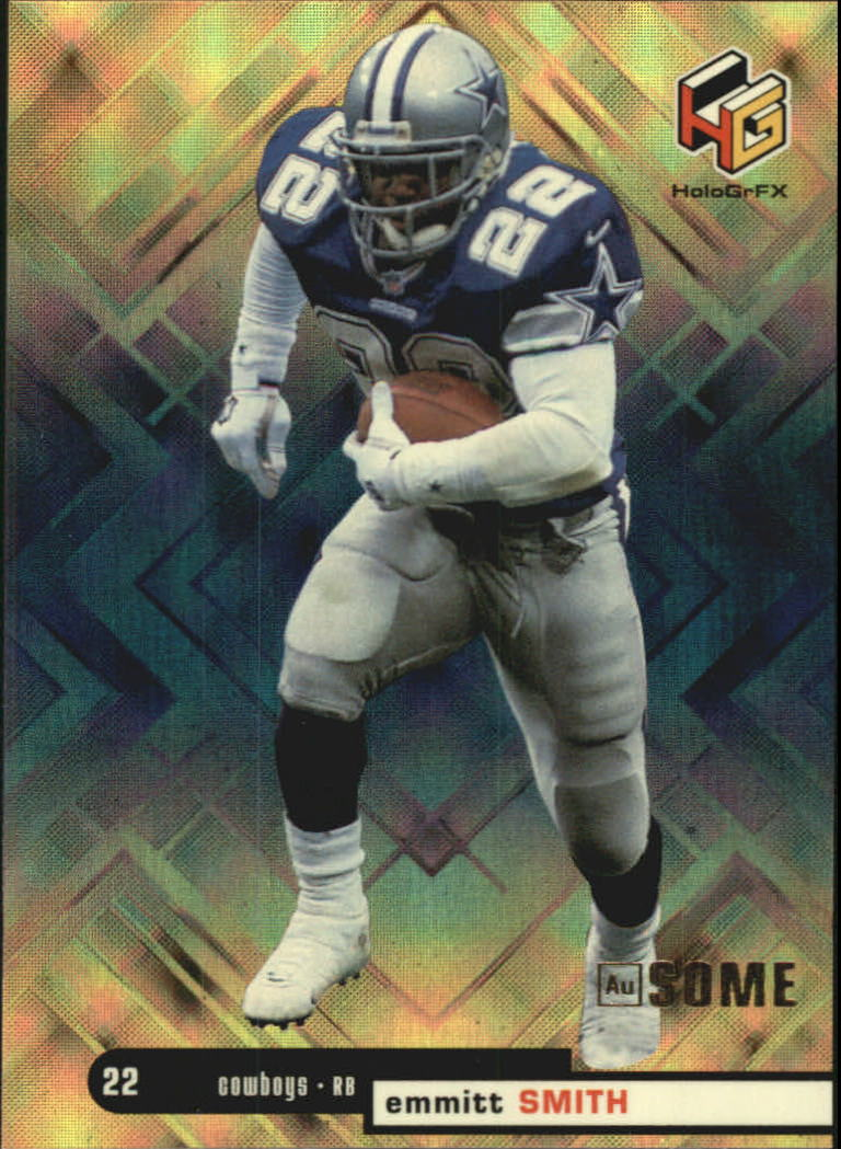 1999 Upper Deck HoloGrFX Ausome #12 Emmitt Smith