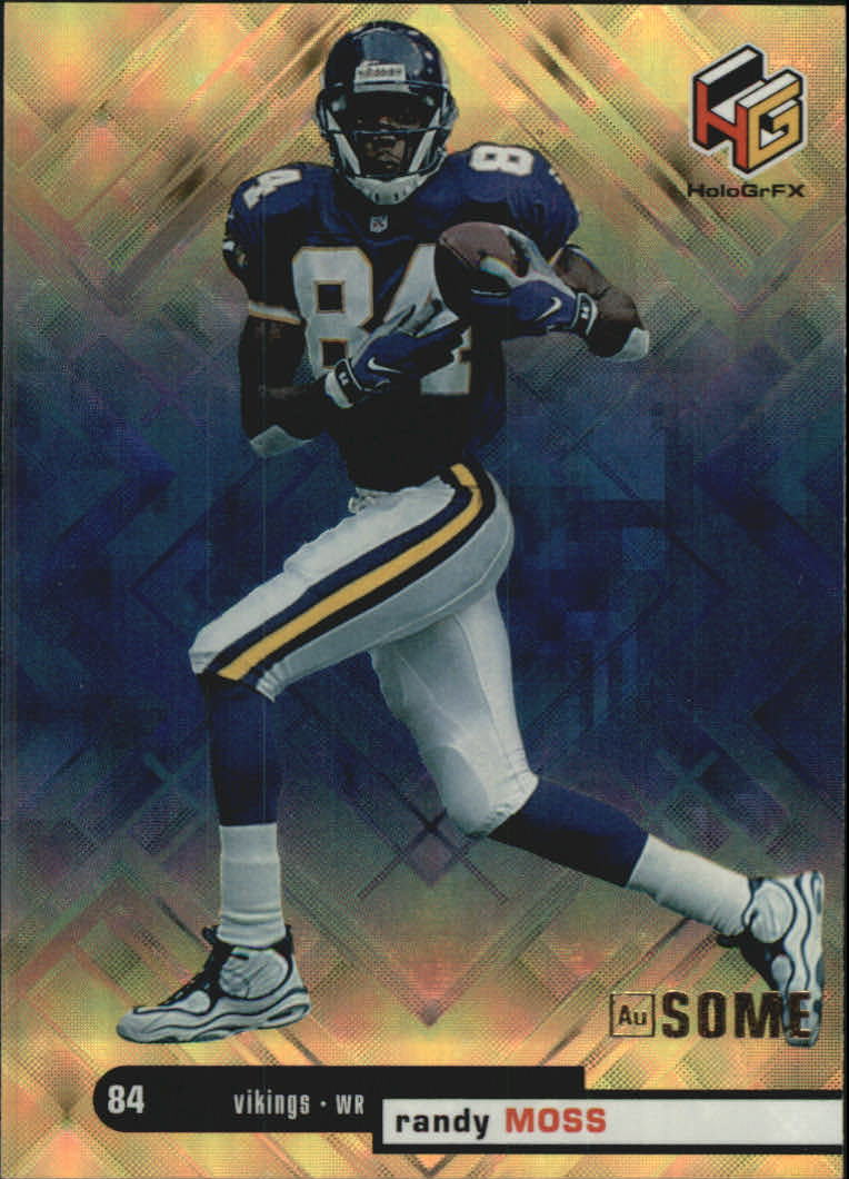 1999 Upper Deck HoloGrFX Ausome #31 Randy Moss
