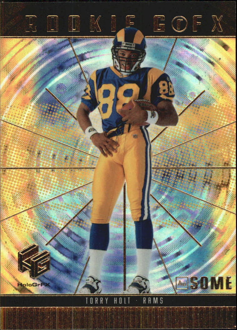 1999 Upper Deck HoloGrFX Ausome #66 Torry Holt