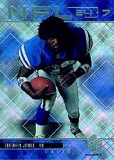 1999 Upper Deck HoloGrFX 24/7 #N11 Edgerrin James front image
