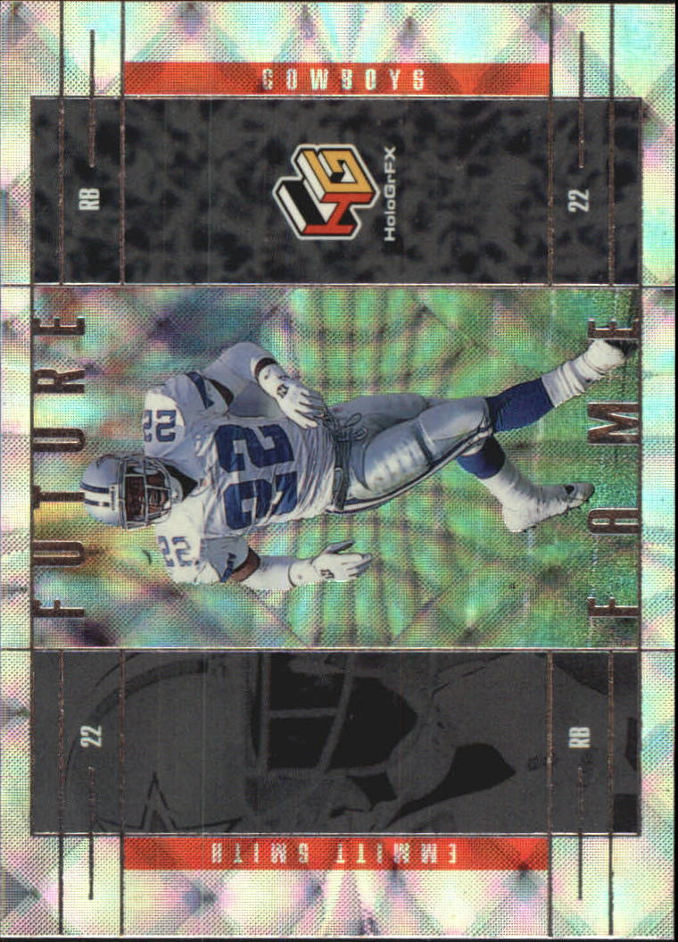 1999 Upper Deck HoloGrFX Future Fame #FF3 Emmitt Smith