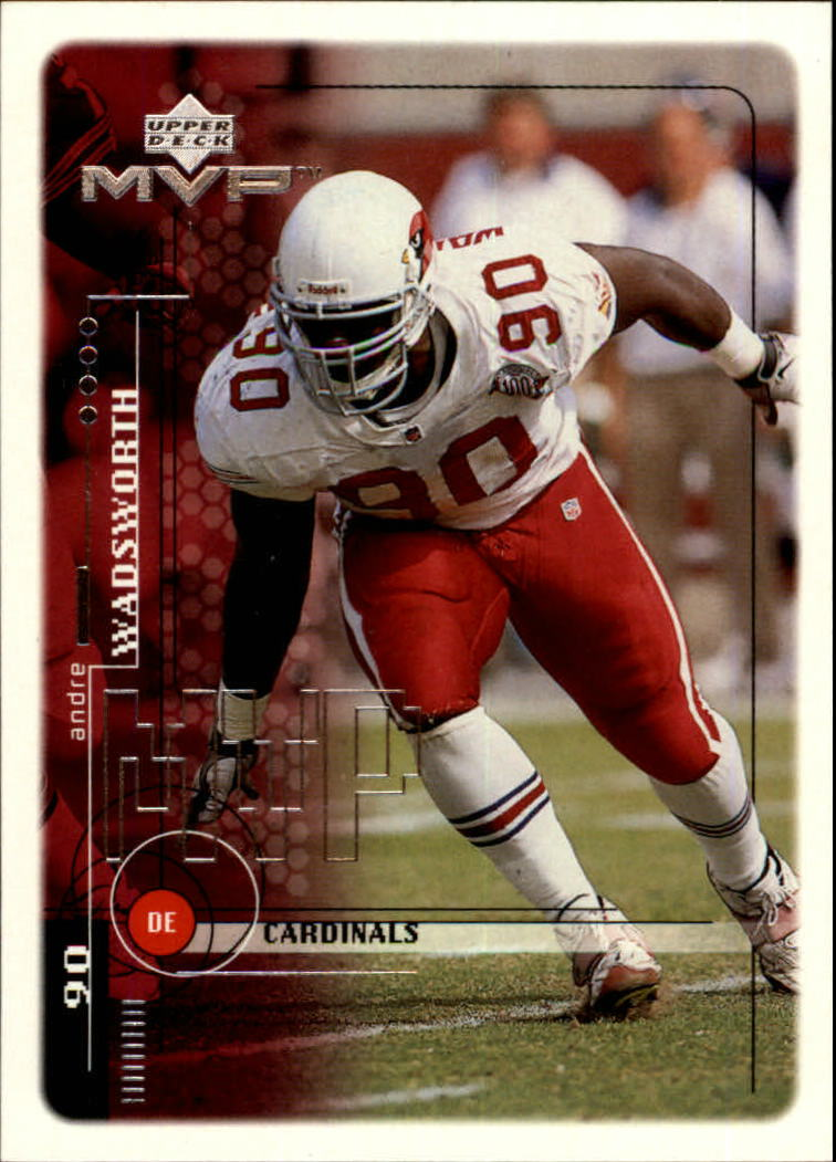 1999 Upper Deck MVP #5 Andre Wadsworth