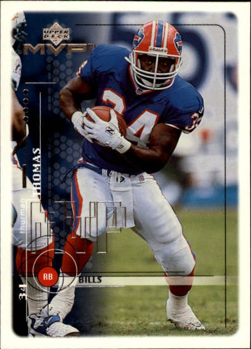 1999 Upper Deck MVP #22 Thurman Thomas