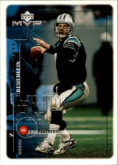 1999 Upper Deck MVP #31 Steve Beuerlein