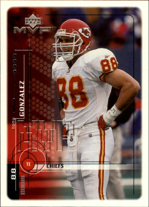 1999 Upper Deck MVP #92 Tony Gonzalez