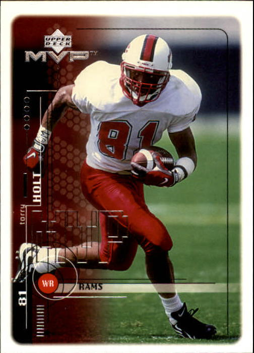 1999 Upper Deck MVP #205 Torry Holt RC