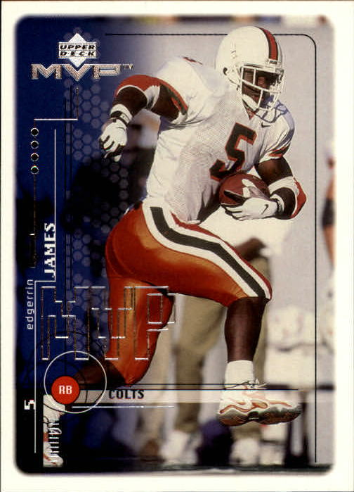 1999 Upper Deck MVP #206 Edgerrin James RC