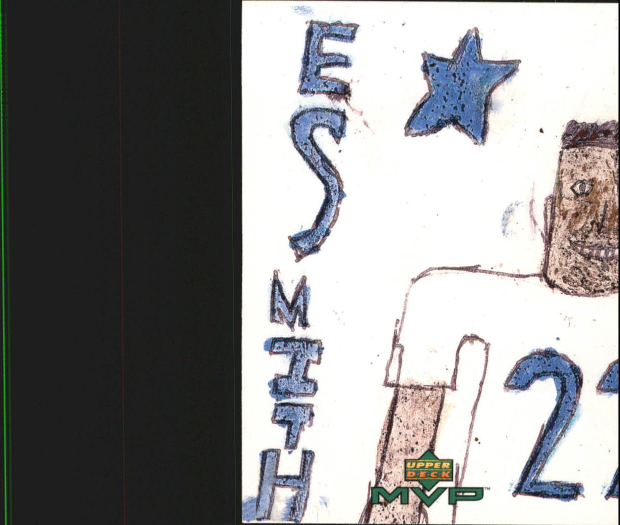 1999 Upper Deck MVP Draw Your Own Card #W2 Emmitt Smith