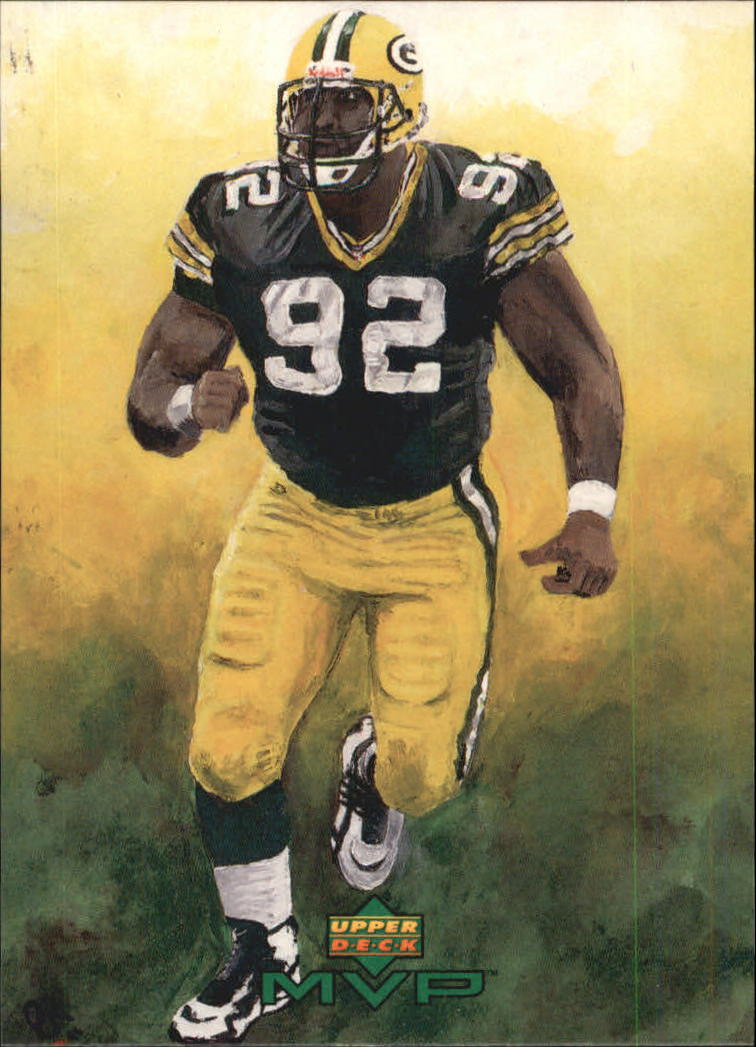 1999 Upper Deck MVP Draw Your Own Card #W30 Reggie White front image