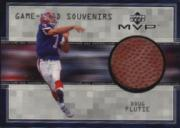 1999 Upper Deck MVP Game Used Souvenirs #DFS Doug Flutie
