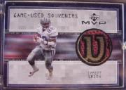 1999 Upper Deck MVP Game Used Souvenirs #ESS Emmitt Smith