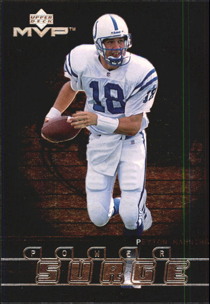 1999 Upper Deck MVP Power Surge #PS10 Peyton Manning