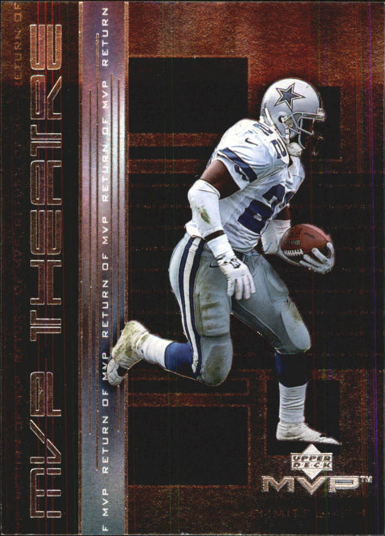 1999 Upper Deck MVP Theatre #M5 Emmitt Smith
