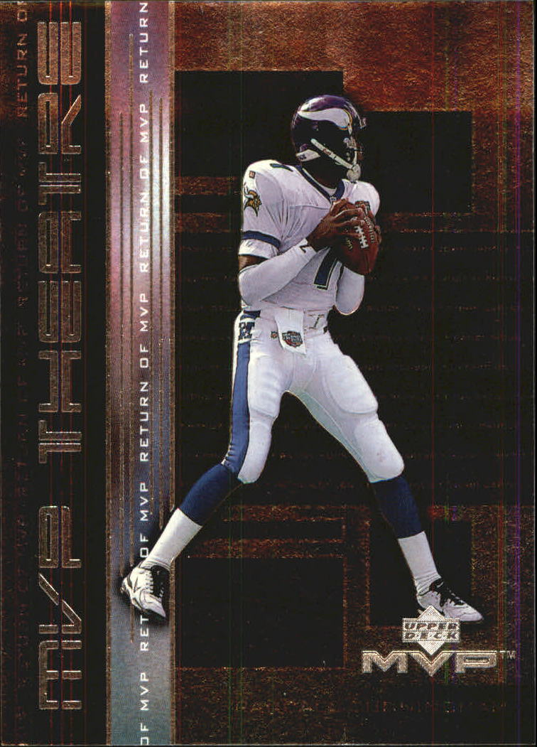 1999 Upper Deck MVP Theatre #M15 Doug Flutie