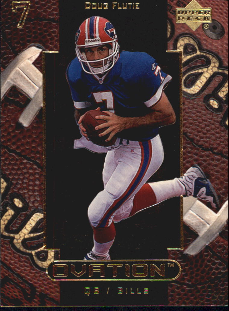 1999 Upper Deck Ovation #7 Doug Flutie