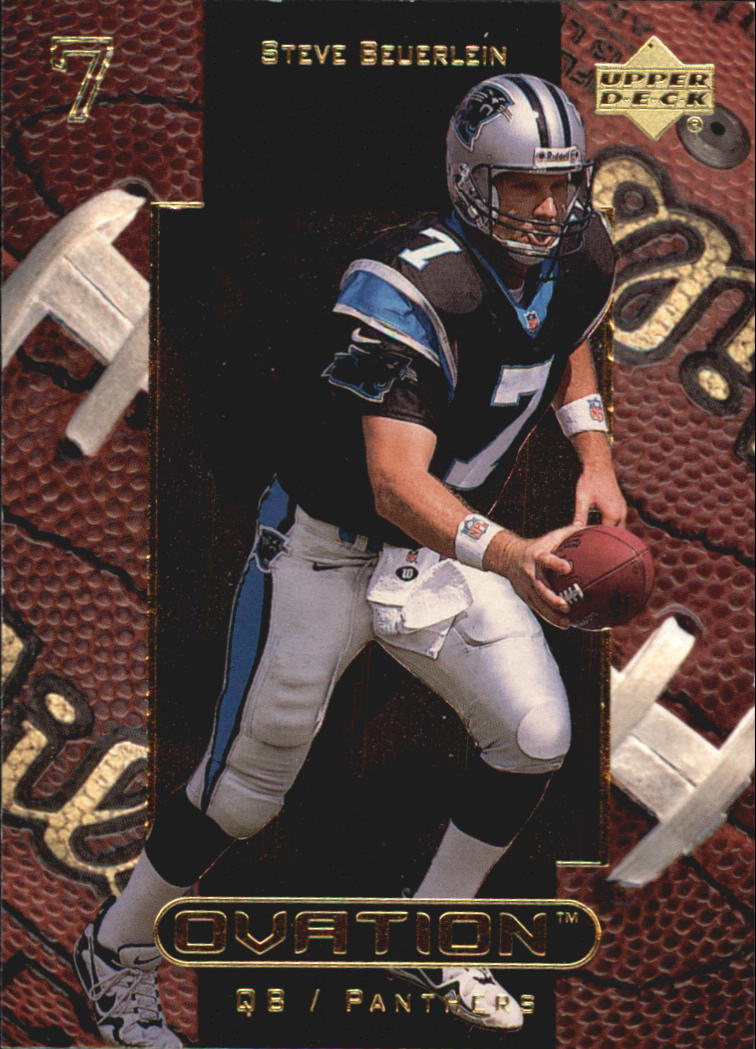 1999 Upper Deck Ovation #9 Steve Beuerlein