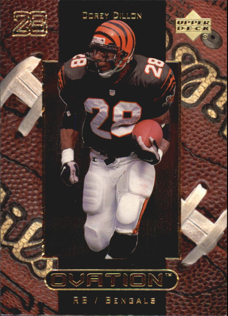 1999 Upper Deck Ovation #12 Corey Dillon