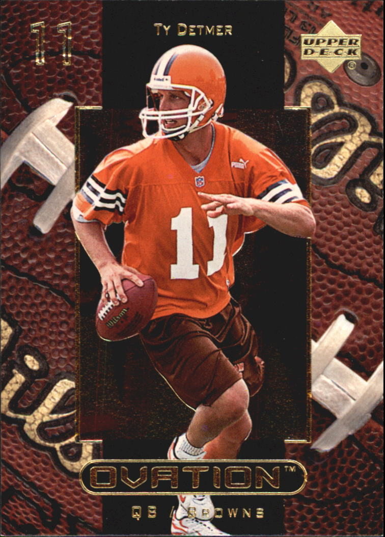 1999 Upper Deck Ovation #14 Ty Detmer