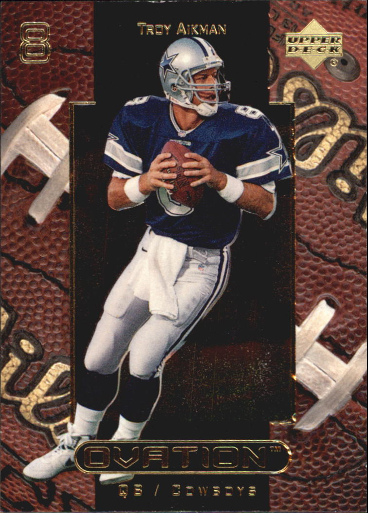 1999 Upper Deck Ovation #15 Troy Aikman