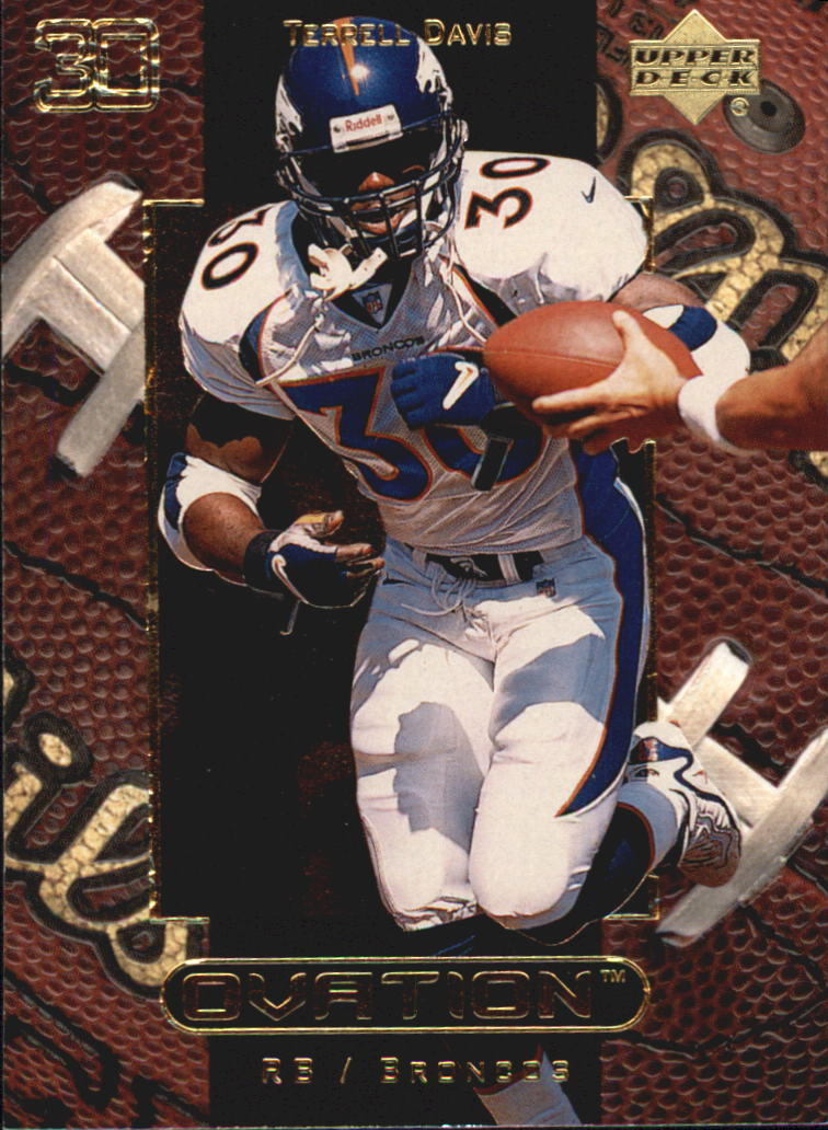 1999 Upper Deck Ovation #17 Terrell Davis