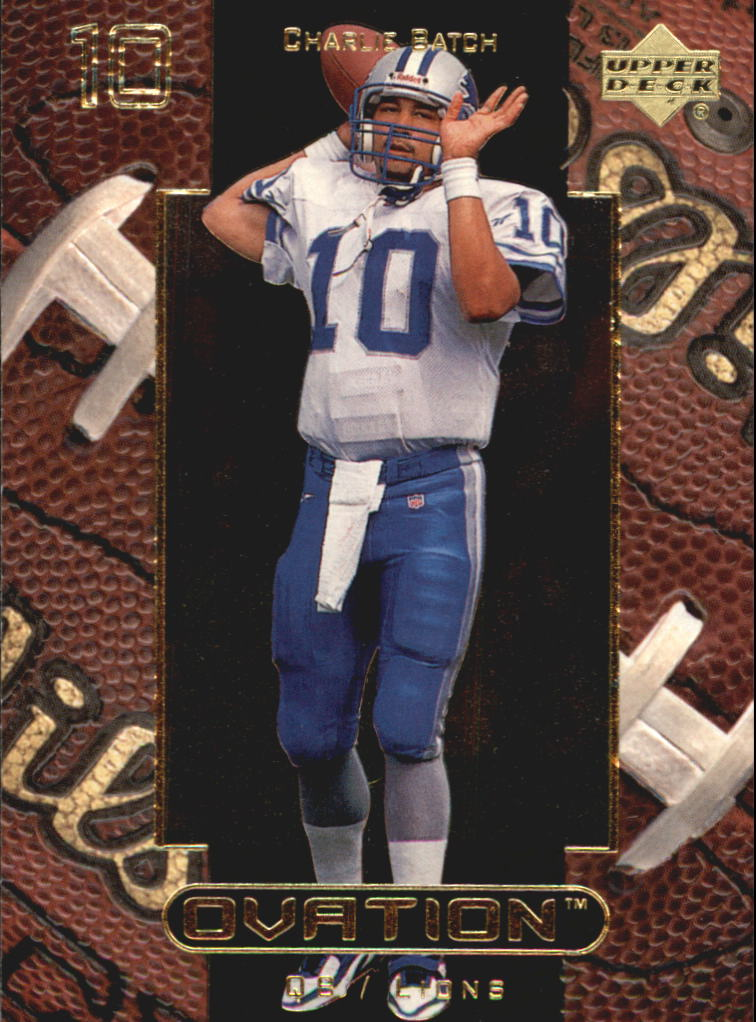 1999 Upper Deck Ovation #20 Charlie Batch