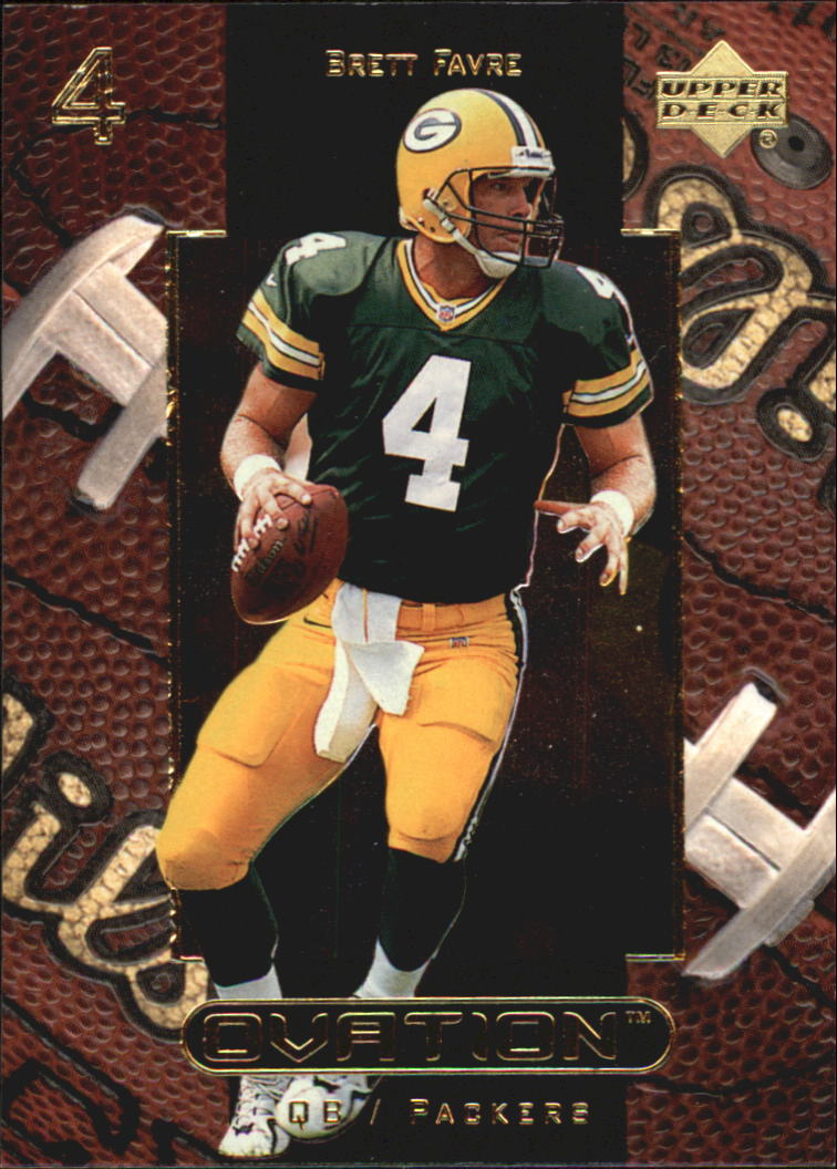 1999 Upper Deck Ovation #21 Brett Favre